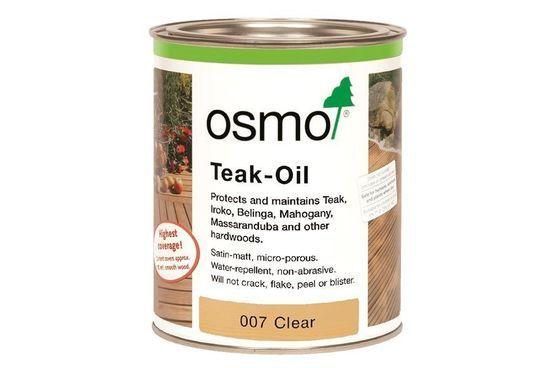 007D Osmo Decking Oil Teak Oil Clear - 2.5ltr